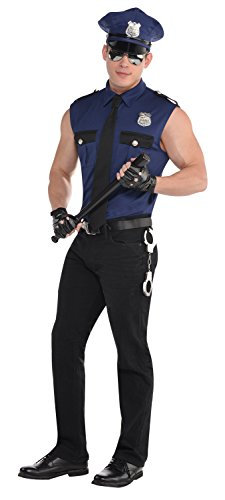 (amscan Adult Under Arrest Cop Costume - Medium)
