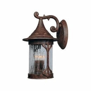 Designers Fountain 20931-CHN Canyon Lake Wall Lanterns, Chestnut