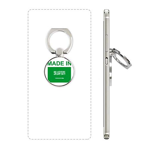 Made in Saudi Arabia Country Love Cell Phone Ring Stand Holder Bracket Universal Smartphones Support Gift (Best Mobile In Saudi Arabia)
