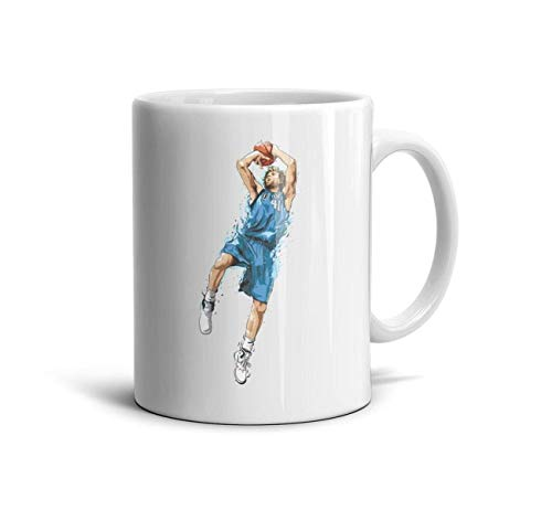 Sios07 Souvenir Design National American Basketball Games Players Ceramic Coffee Mug Motivational White TeaMugs Lovers Cup MVP Best Player Tumblerful