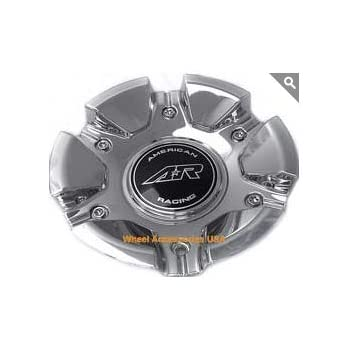 "American Racing Chrome 7/"" OD Wheel Center Hub Cap for AR897"