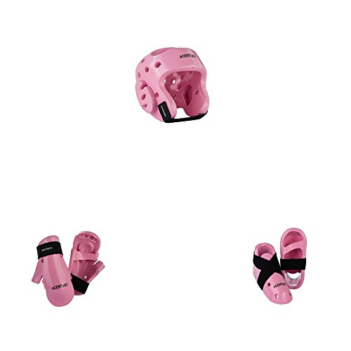 Century Karate Sparring Gear Combo Set pink child small ()