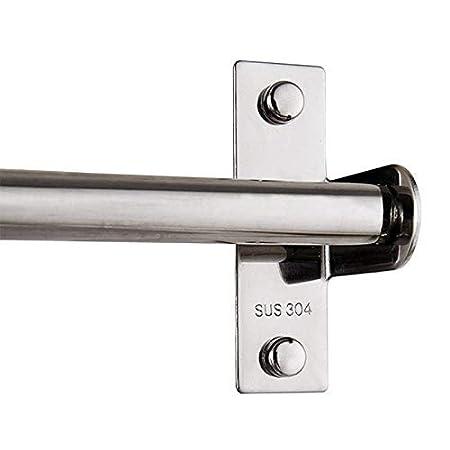 Bnice SUS 304 - Perchero de acero inoxidable para colgar utensilios de cocina, multiusos, duradero, para colgar cuchillos, ollas y sartenes con 8 ganchos ...