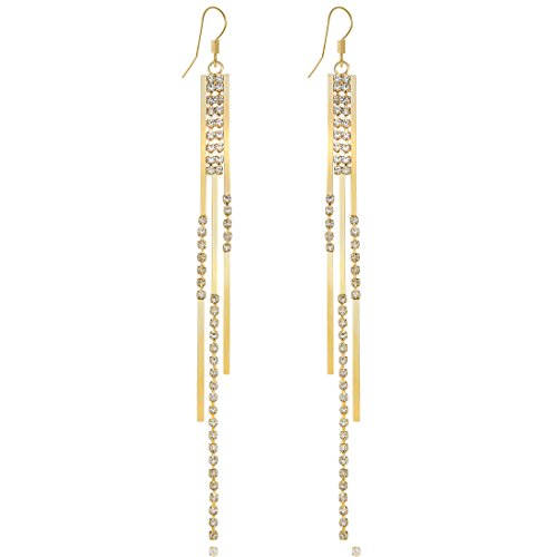 Fashion Bohemia Chandelier Crystal Earrings product image