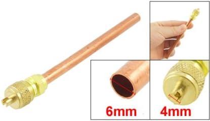 8,9 cm Kupfer Zugangsventil f/ür Klimaanlagen