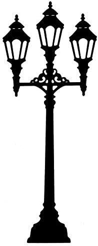 Laterne 2 Stanzschablone 5,9cm x 14,7cm