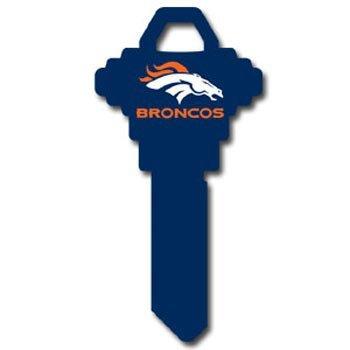 Schlage NFL House Key - Denver Broncos