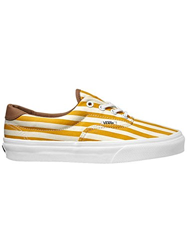 VansVZMSFM7 - ERA 59 (a rayas) Unisex adulto Amarillo - Golden Yellow