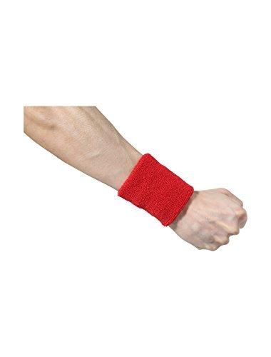 eDealMax Atlética de algodón Tela de toalla gruesa Protector de la muñeca Banda de sudor DE