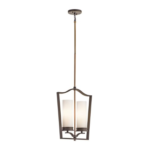 Kichler  42777OZ 2 Light Aren MultiPositional Mini Foyer, Olde Bronze