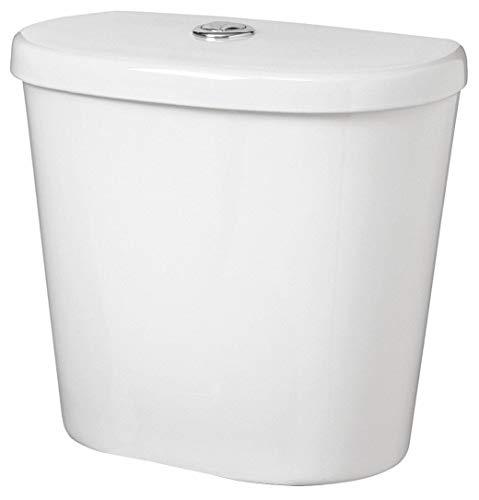 - Gerber Maxwell 1.1/1.6 gpf Toilet Tank, Top Button Actuator, White