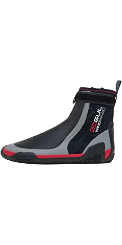 GUL CZ Windward Pro 5MM Zipped Round Toe Wetsuit Boots Black/Grey Bo1279 - Unisex