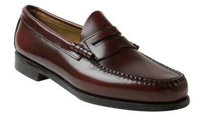 Christmas Bass - G.H. Bass & Co. Men's Larson Penny Loafer, Burgundy, 12 D US