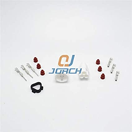 Davitu 10 sets Sumitomo 3pin MT090 sealed Motorcycle TPS waterproof male female connector 6187-3231 6180-3241 - (Package: 10 sets)
