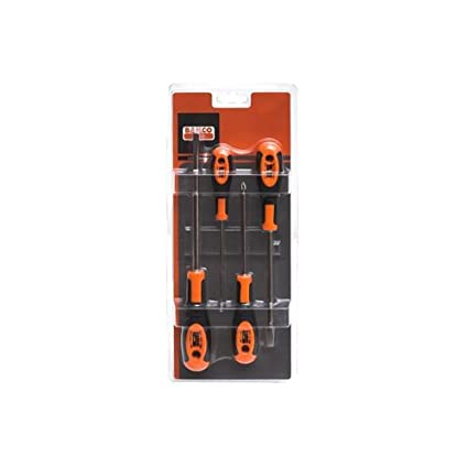Bahco 602-4 - Juego Destornillador 4P: Amazon.es: Bricolaje y ...