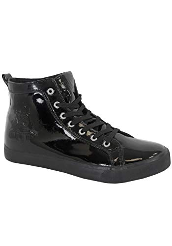 Star Wars Darth Vader Mens High Top Sneakers Size - Top High Patent Black