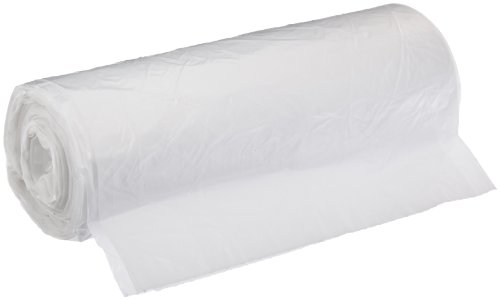 Aluf Plastics SR-366017C SR High Density Star Seal Roll Bag, 50-55 Gallon Capacity, 58'' Length x 36'' Width, Clear (Case of 200) by Aluf Plastics (Image #1)
