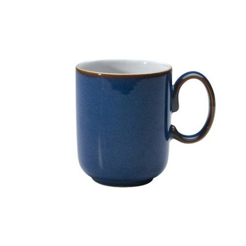 (Denby Imperial Blue Straight Mug, Royal Blue)