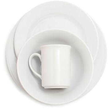 Sur La Table Bistro 24-Piece Dinnerware Set DO24Y900