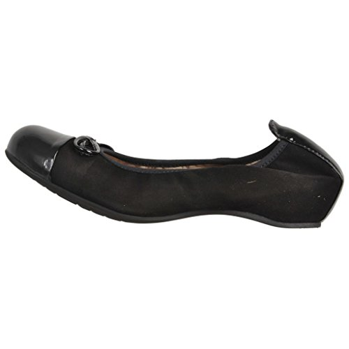 Shoes Avery Ks Model Black Shoes Black Ballerina Brand Womens Colour Unisa Rn0PqP