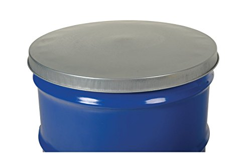 Closed Head Galvanized Steel Drum Cover for use with 55 gallon