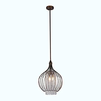 Whse of Tiffany RL8055 Katniss Pendant - 15 inches wide x 20.5 inches high K9 Crystal Style: modern, rustic, contemporary - kitchen-dining-room-decor, kitchen-dining-room, chandeliers-lighting - 31uI2A4khsL. SS400  -