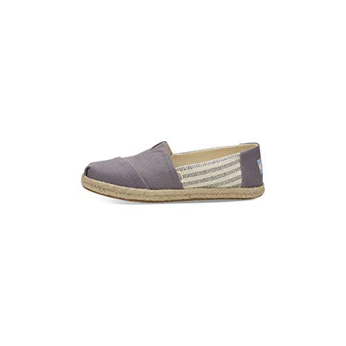 - TOMS Women's Drizzle Grey University Rope 10013496 (Size: 7)