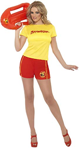 Ladies Sexy Baywatch Beach Patrol Costume - Size 8-10