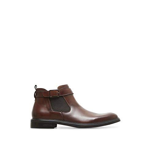(Kenneth Cole New York Men's Donnie Chelsea Boot, Cognac, 10.5 M US)