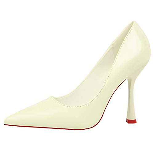36 AN Femme Sandales DGU00498 Blanc 5 Compensées EU Blanc qqBzFr