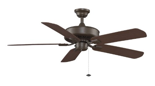 (Fanimation Edgewood Wet - 50 inch - Oil-Rubbed Bronze with Pull-Chain - TF910OB)