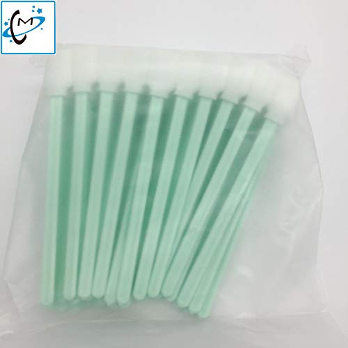 Printer Parts 500pcs/lot Inkjet Yoton Cleaning Stick Spong swabs Foam tip Format Printer Yoton Cleaning Brush Cleaner Stick 13cm
