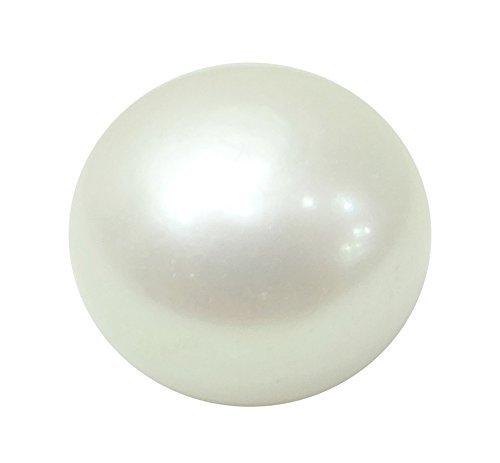 Cultured Freshwater Pearl Enhancer (Pearl 7 Ct. / 7.78 Ratti Moti Gemstone Astrological Birthstone By Arihant Gems And Jewels)