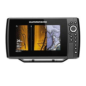 Humminbird 410830-1 Helix 8 Chirp MEGA SI  GPS G3N Fishfinder with Bluetooth & Ethernet