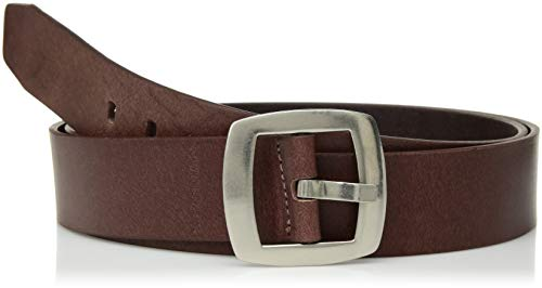 Calvin Klein Women's Vintage Leather Belt, brown, XXL Calvin Klein Embossed Belt