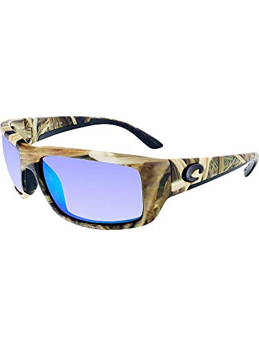 becf0d457 Galleon - Costa Del Mar Fantail Sunglasses, Mossy Oak Shadow Grass Blades  Camo, Green Mirror 580 Plastic Lens