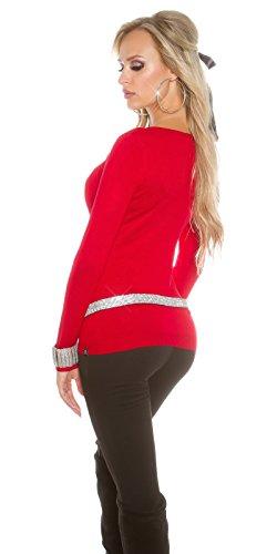 Maglione Koucla Rot Maglione Donna Donna Rot Koucla Koucla Maglione qgRg7OtZ