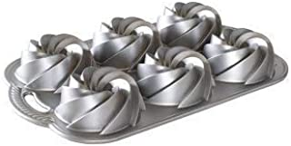 product image for Nordic Ware Heritage Bundtlette Cake Pan, Metallic, Silver