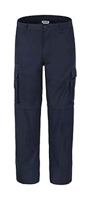 Bienzoe Men's Outdoor Quick Dry Waterproof Convertible Cargo Hiking Pants