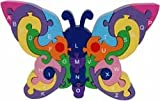 Alphabet Butterfly Wood Puzzle
