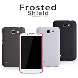 NILLKIN Super Frosted Shield Series Protective Case For Huawei G730 --- Color:White