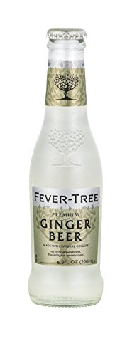 Non Alcoholic Beer Made (Fever-Tree Premium Ginger Beer, 6.8 Ounce Glass Bottles (Pack of 24))