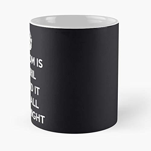 Freedom Is In Peril World War Two Propaganda Ww2 - Best 11 oz Coffee Mug Cheap Gift