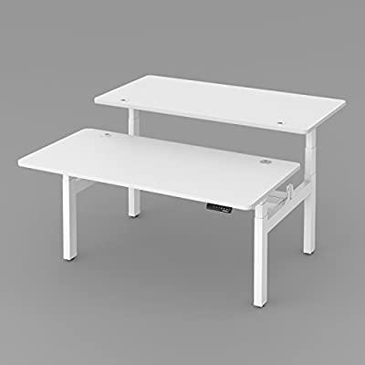 Electric Standing Desk - Back-to-Back Height Adjustable Workstations,Commercial Grade ,5 Years Limited Warranty