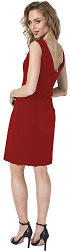 Bellivalini 4218 Rouge Femme D31N1 Robe 7qrw7RxP4
