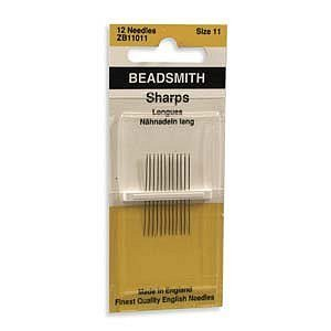 Sharp Beading Needles -Size 11, 12 Pack by DIY Jewelry Making