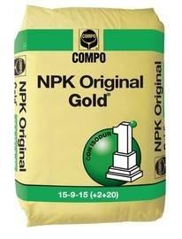 3 opinioni per CONCIME UNIVERSALE NPK ORIGINAL GOLD (ex nitrophoska gold) IN SACCO DA 25 KG