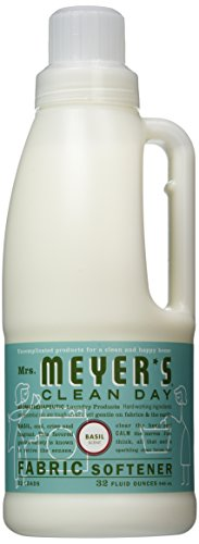 Mrs. Meyer's Fabric Softener Basil, 32 Fl. Oz