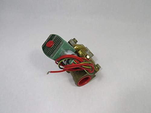 Asco 8210G4 Red Hat General Purpose Solenoid Valve 120 volt 60 cyc.