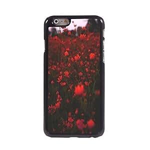 Flower Design Aluminum Hard Case for iPhone 6